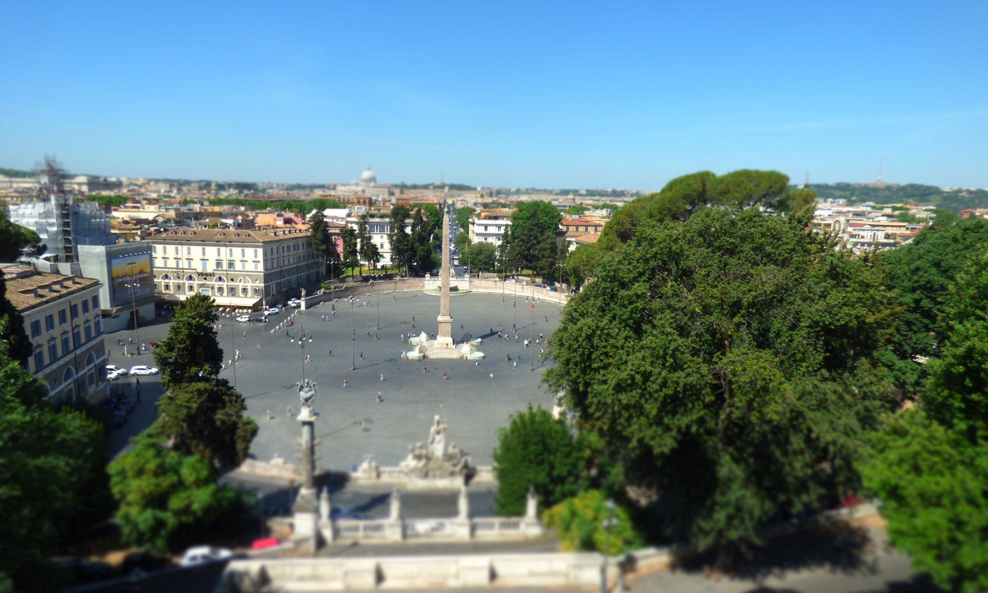 Rom Blick über die Stadt