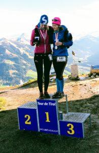 Siegertreppe Kaisermarathon Söll