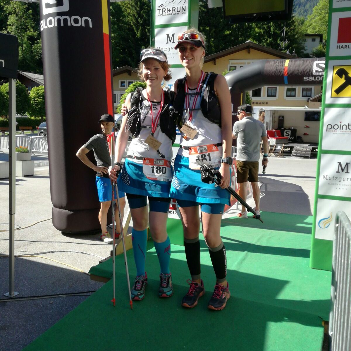 Glücklich im Ziel_Schwarzach Trail