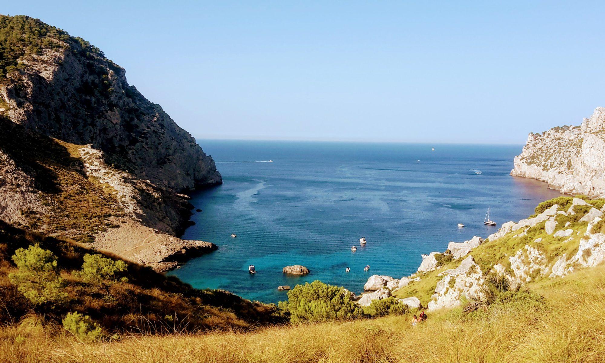 Mallorca Blick über das Meer