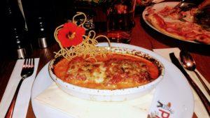 Lasagne im Ristorante Giovanni