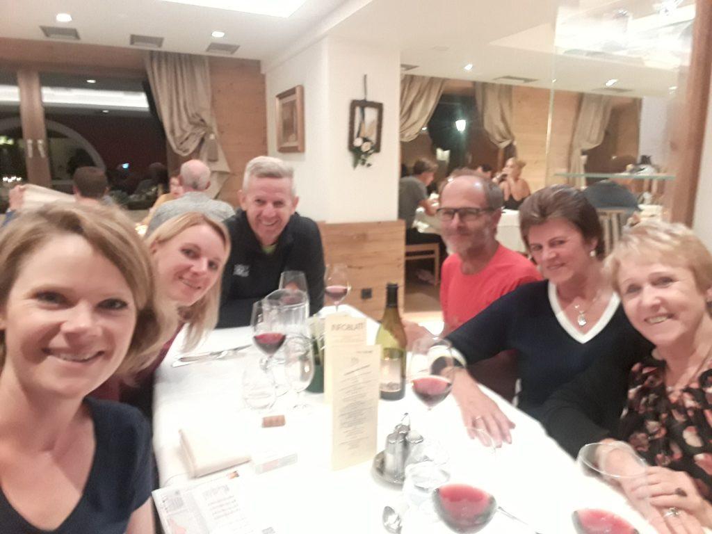 Transalpine Run - Etappe 7 (Abendessen)